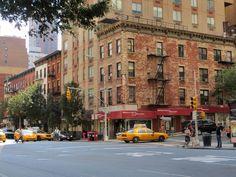 Typisch New Yorkse gebouwen op  Third en 37th