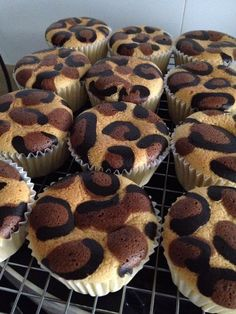 Singapore Home Cooks: Leopard print cup pies by Ajumma Neo