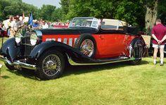 1936 Hispano Suiza V-12 convertible victoria