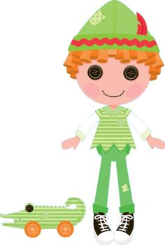 Lalaloopsy w MiniMini+ - sekcja z grami i zabawami dla najmłodszych Peter Pan Hat, Halloween Circus, Orange Wheels, Lalaloopsy Party, Pink Cheeks, Dibujos Cute, Captain Hook, Green Stripes, Pet Toys