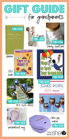 Gift Guide for Grandparents! #grandparentgifts #giftguides #howdoesshe howdoesshe.com