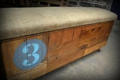 RecycledBrooklyn - commercial spaces. Burlap Benches.