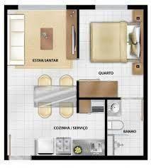 Good floor plan for little house Studio Apartment Floor Plans, Studio Floor Plans, Studio Apartment Layout, Apartment Plans, House Floor Plans, Small Tiny House, Tiny House Cabin, Small House Design, Small House Plans