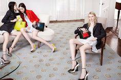 Fei Fei Sun,Helena Severin,Julia Nobis & Kasia Jujeczka Star in Dior's Fall/Winter 2014 Campaign Fei Fei Sun, Fashion Advertising, Advertising Campaign, Winter Trends, Fall Winter 2014, Autumn, Dior 2014 Fall, Christian Dior 2014, Balmain