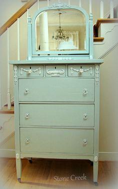 Simply Stone Creek: The Blue Jasper Dresser