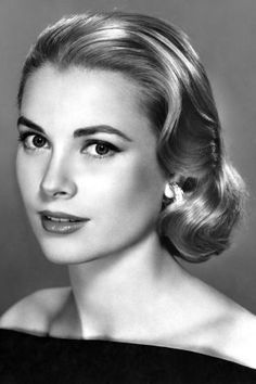 10 celebrity inspired hairstyles to wear on your wedding day: Grace Kelly.