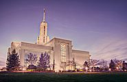 Download Desktop Wallpaper. The Mount Timpanogos LDS temple. Mormons go to temples to make covenants (promises) to God to live Christ-like lives, follow the commandments, and be married for time and eternity. Death doesn't have to be the end of a family. Photo taken by a Mormon photographer and shared with the Church through Create.LDS.org