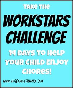 Workstars Challenge - 14 Days to Help Your Child Enjoy Chores, chore chart, kids chores, parenting, kidsfamilyfinance Fun Learning, Learning Activities, Activities For Kids, Kids And Parenting, Parenting Hacks, Chores For Kids, Family Night, Children And Family, Teaching Tools