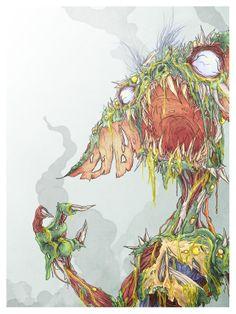 Zombie Gremlin - Dave Slebodnick