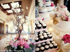 Manzanita tree and cupcakes