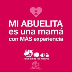¡Feliz día de las Madres! de Delta.