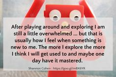 After playing around and exploring I am still a little overwhelmed ... but that is usually how I fee...