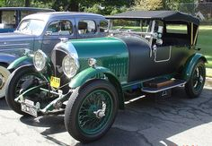 The 1926 Bentley Speed Six Tourer is a famous British car of the vintage era.