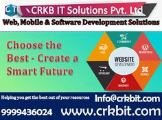 Choose the Best - Create a Smart Future Web, Mobile & Software Development Solutions- Create smart future. If you are looking to change your old website.Then here we are to convert your dreams into reality. Web Page Development, Software Development, Ecommerce, Digital Marketing, Dreaming Of You, Change, Dreams, Website, Future