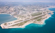 Nice airport Did a flight, approach and landing to NCE on the FD thanks to a very generous captain. lsp