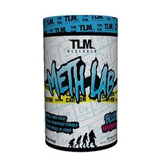 TLM Research Meth Lab Preworkout Clinically Dosed with 400 mg Caffiene, Theobromine, Higenamine, and Beet Root Nitrate for Intense Energy and Pump - 30 Serving >>> Visit the image link for more details.