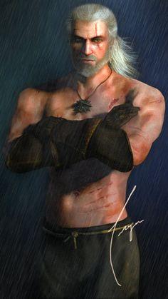 Geralt by trose84 on DeviantArt