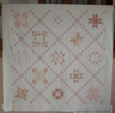 2008 Crazy Mom quilts: star quilt along, week 1