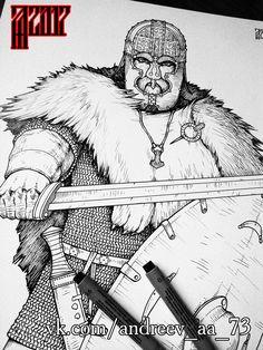 Pagan Fashion, Morse, Viking Shirt, Viking Reenactment, Old Norse, Dark Ages, Vikings, Scandinavian, Concept Art