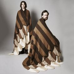 Shield Of Wings Blanket Brown, $329, now featured on Fab.