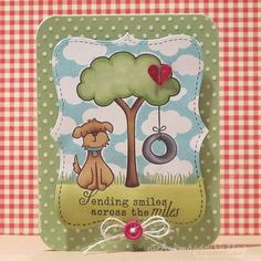 lawn fawn | die cut a label from Neenah Solar White Cardstock using the Stampin ...