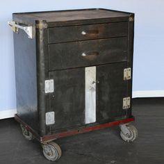 Vintage Tool Cart By Style De Vie