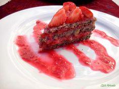 nagyon mákos nagyon epres tortácska (laktózmentes, cukormentes, vegán)