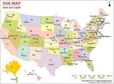 united states capitals list usa map states and capitals list usa map states and capitals list
