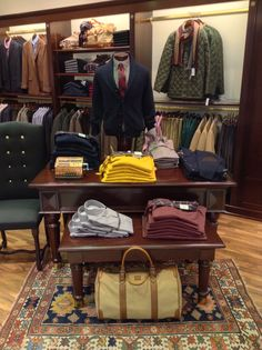 Brooks Brothers boutique at Golden Hall Athens Greece Men's Collection F/W 2013