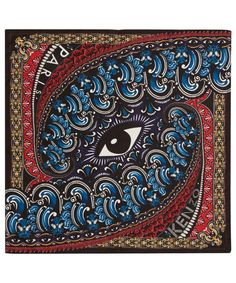 Kenzo's decadent printed scarf is crafted in super-lightweight pure silk. Shop online here: http://www.liberty.co.uk/fcp/categorylist/designer/kenzo #DesignerScarf