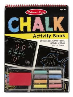 Melissa and Doug Chalk Activity Book