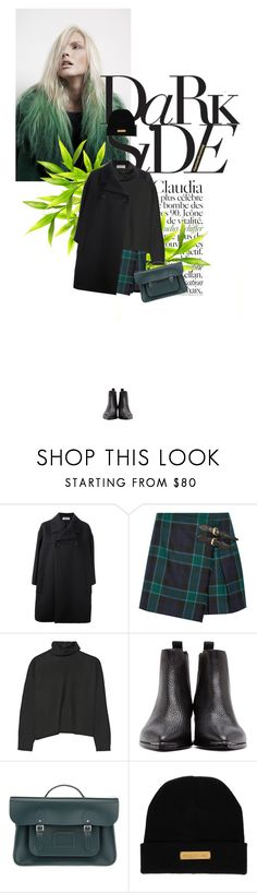 """""""Senza titolo #2221"""" by elle-est-a-daydreamer ❤ liked on Polyvore featuring Claudia Schiffer, Balenciaga, Burberry, Marni, Acne Studios, The Cambridge Satchel Company and Marie Marot"""