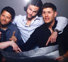 Imagem de supernatural, Jensen Ackles, and jared padalecki