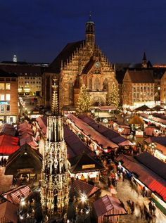 Nuremberg Christkindlmarkt, Germany, The most amazing place during Xmas time!