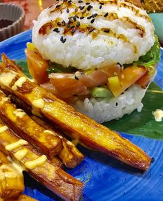 KAMANO BURGER: sushi di burger a base di salmone
