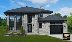 Rinox - Londana Stone A stone that perfectly mixes the look of traditional stones with modern architecture.