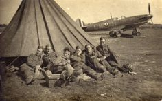 Groundcrew at RAF Warmwell 1940