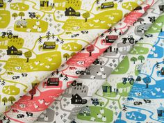 ▲綿(コットン) - 商品詳細 オックスプリント Farm 110cm巾/生地の専門店 布もよう