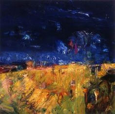 Cornfield after a Storm, 1963  John Houston  photo credit: Aberdeen Art Gallery & Museums Collections