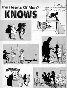 The Shadow Knows! 04 Sergio Aragones showing how simple it is to make us laugh - MAD Magazine 1960's
