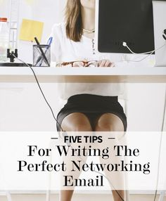 How to Write The Perfect Networking Email #tips #networking  | Blogging Tips | Entrepreneur