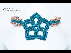 In this tutorial I show you how to make a macrame star that can be used for many different things like a necklace, bracelet, ring or decorations. Please feel...