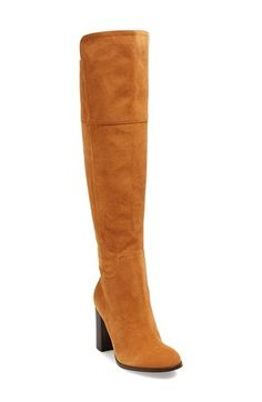 Pour la Victoire 'Talia' Suede Tall Boot (Women) available at #Nordstrom
