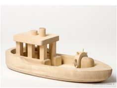 Wooden ship - toy of the wood