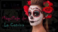 Catrina maquillarse Paso a Paso para dia de muertos