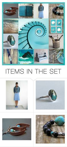 """""""From Earth To Sea"""" by jarmgirl ❤ liked on Polyvore featuring art and vintage"""