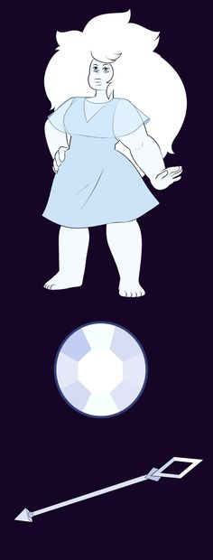 Crystal Quartz a commission for therealeasya gem located on the back of the neck Steven Universe, Blue Pearl, Homework, Healthy Food, Funny Pictures, Cartoons, Comic, Fandoms, Characters