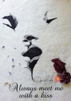 Drawing by Artist Oscar vela