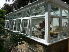 Large Conservatory - Side View