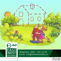 There are lots of reason to acquire your dream home for your family! #BalramEnclave Contact us at 91 9444446643/ info@eastwestrealty.in